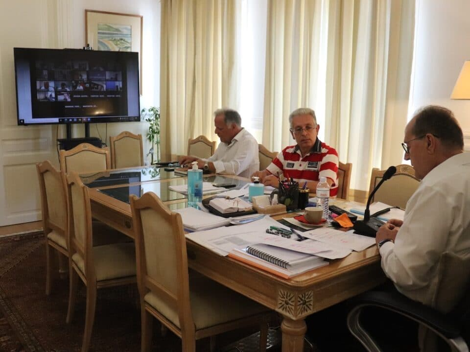 Νίκας συνεδρίαση ΕΝΠΕ- Πρόγραμμα Αντώνης Τρίτσης