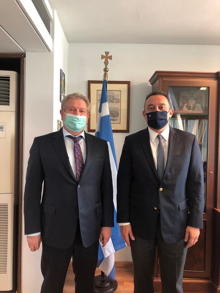 Κώστας Βλάσης-Πρέσβης Καζακστάν