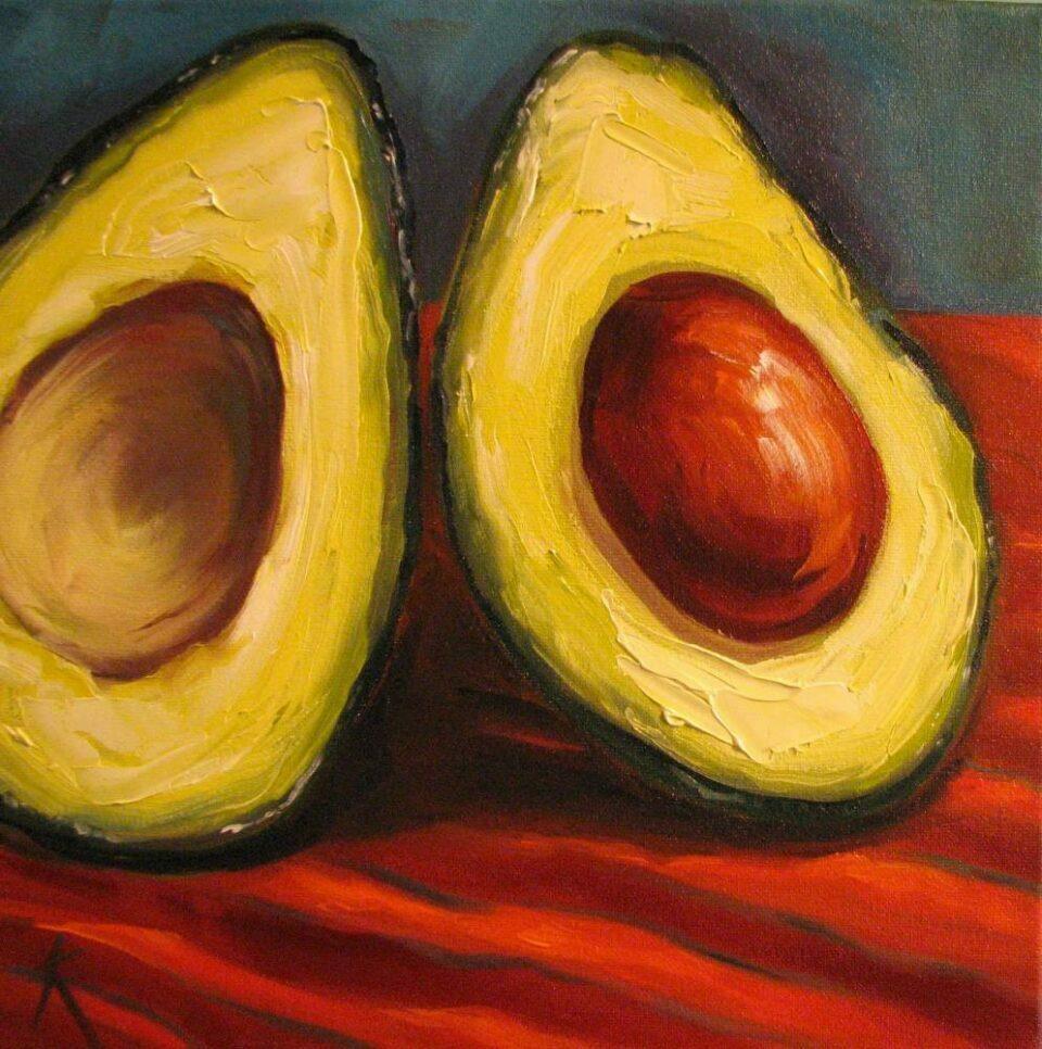 Avocado-Cezanne